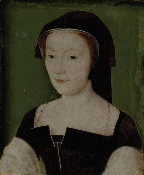 Мария де Гиз. Портрет от Корнеля де Лиона.